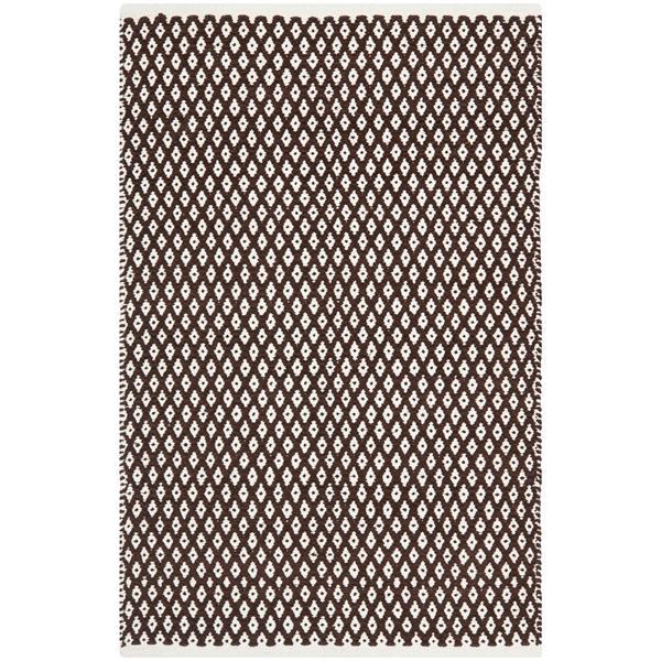 Safavieh Boston Geometric Rug - 2.5' x 4' - Cotton - Brown