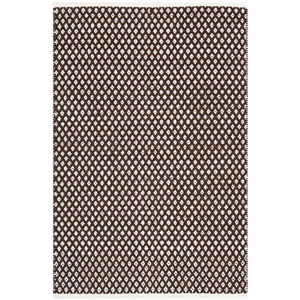 Safavieh Boston Geometric Rug - 4' x 6' - Cotton - Brown