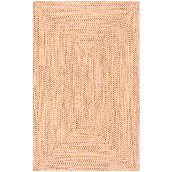 Safavieh Braided Rug - 4' x 6' - Cotton - Beige