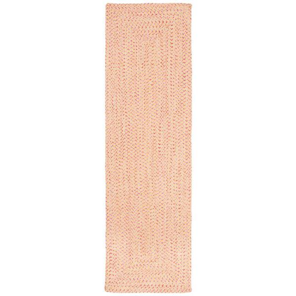 Safavieh Braided Rug - 2.3' x 8' - Cotton - Beige