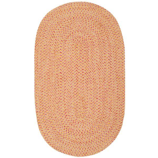 Safavieh Braided Rug - 3' x 5' - Cotton - Beige