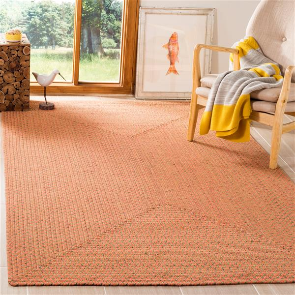 Safavieh Braided Rug - 2.5' x 4' - Cotton - Multicolour