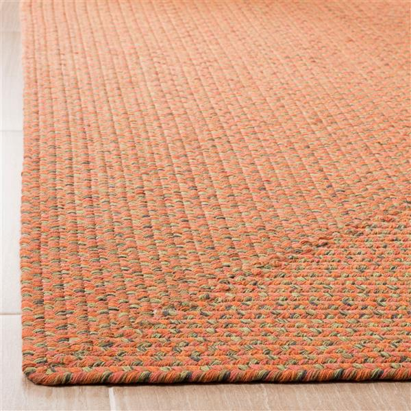 Safavieh Braided Rug - 2.3' x 10' - Cotton - Multicolour