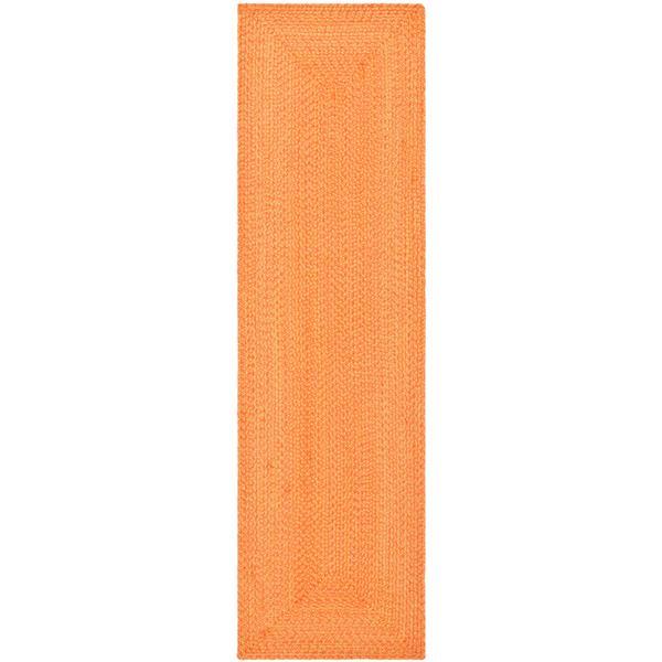 Safavieh Braided Rug - 2.3' x 10' - Cotton - Multicolour