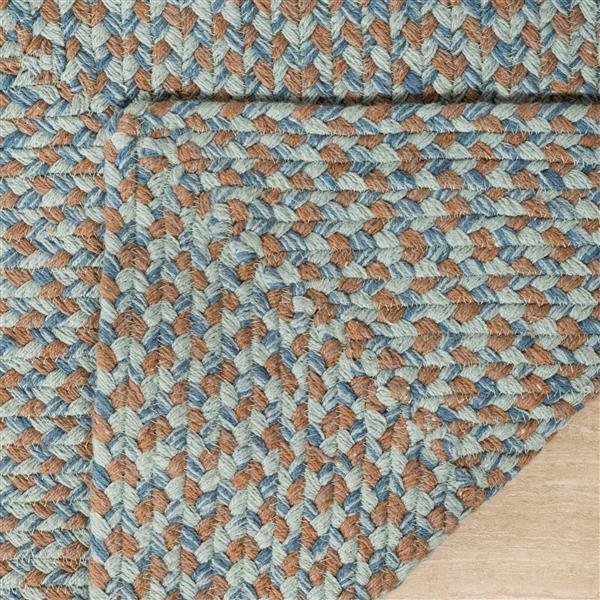Safavieh Braided Rug - 2.5' x 4' - Cotton - Multicolour