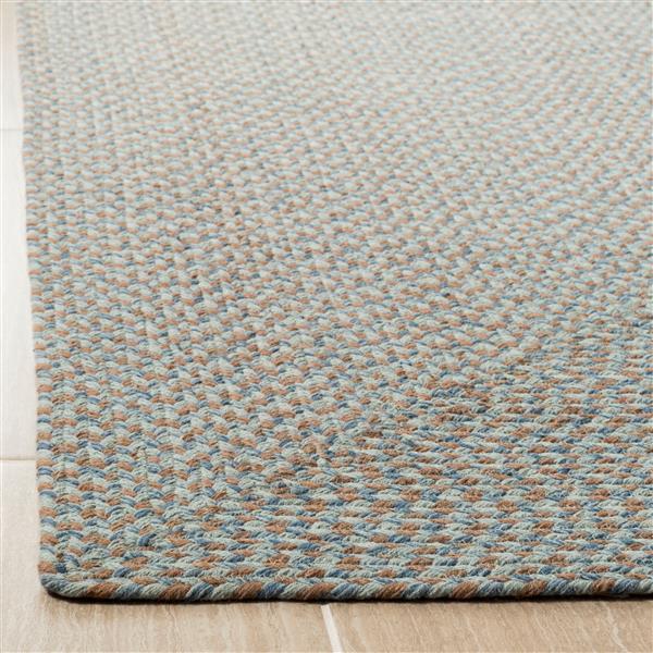 Safavieh Braided Rug - 2.3' x 8' - Cotton - Multicolour