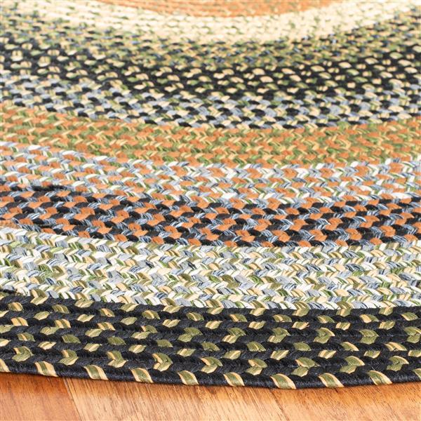 Safavieh Braided Stripe Rug - 4' x 6' - Cotton - Multicolour