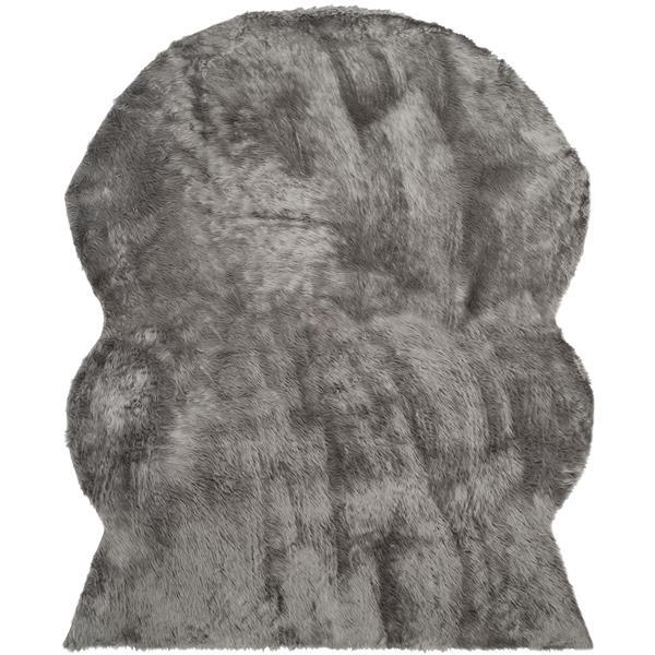 Safavieh Faux Sheep Skin Rug - 8' x 10' - Acrylic - Gray