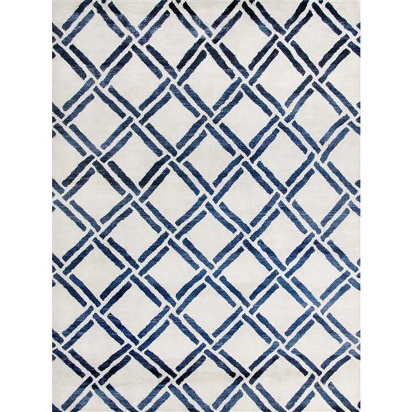 Safavieh Moroccan Geometric Rug - 9' x 12' - Viscose - Ivory