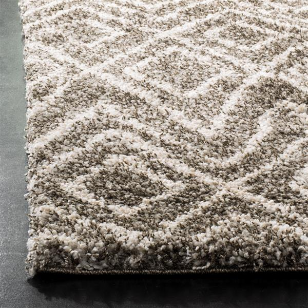 Safavieh Hudson Abstract Rug - 4' x 6' - Polypropylene - Gray