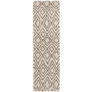 Safavieh Hudson Abstract Rug - 2.3' x 8' - Polypropylene - Ivory