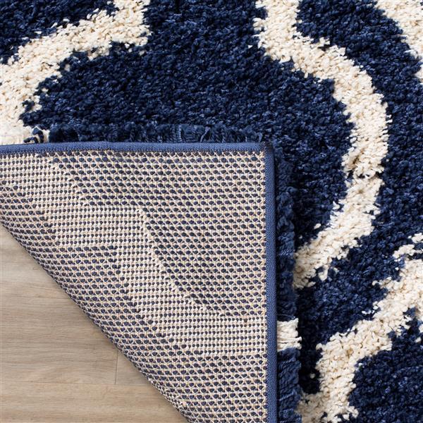 Safavieh Hudson Trellis Rug - 3' x 5' - Polypropylene - Blue