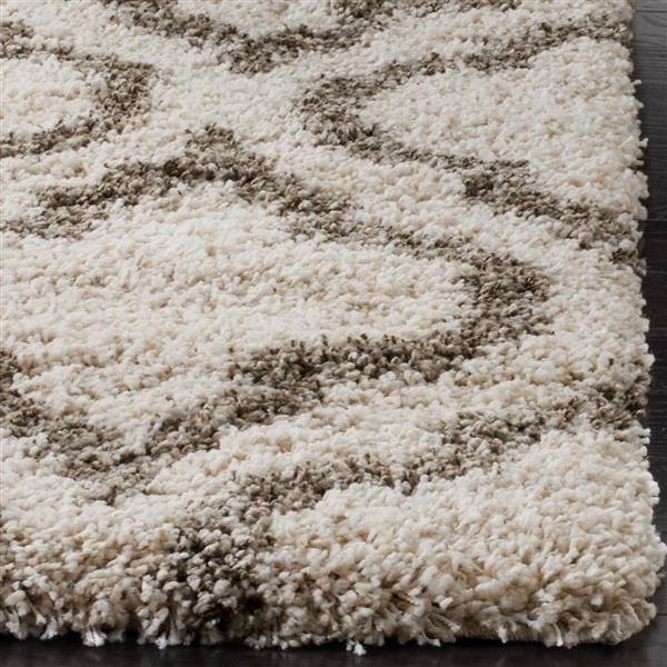 Safavieh Hudson Trellis Rug - 3' x 5' - Polypropylene - Ivory