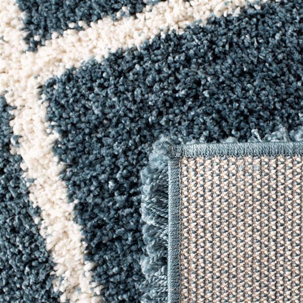 Safavieh Hudson Trellis Rug - 4' x 6' - Polypropylene - Slate Blue