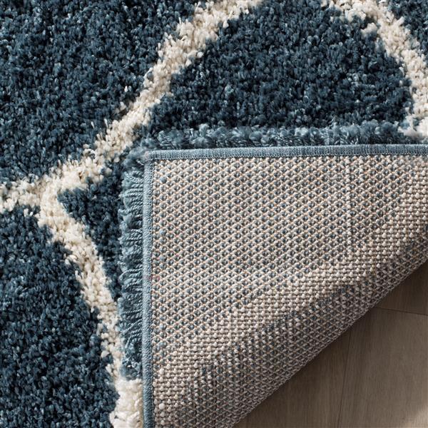 Safavieh Hudson Trellis Rug - 3' x 5' - Polypropylene - Slate Blue