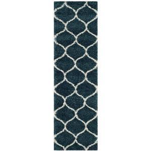 Safavieh Hudson Rug - 2.3' x 8' - Polypropylene - Slate Blue