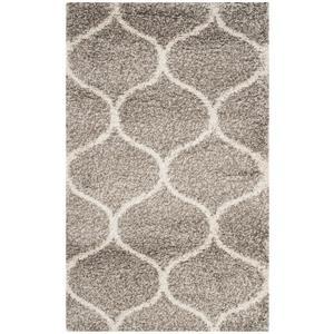 Safavieh Hudson Trellis Rug - 3' x 5' - Polypropylene - Gray