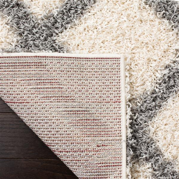 Safavieh Dallas Trellis Rug - 3' x 5' - Polypropylene - Ivory