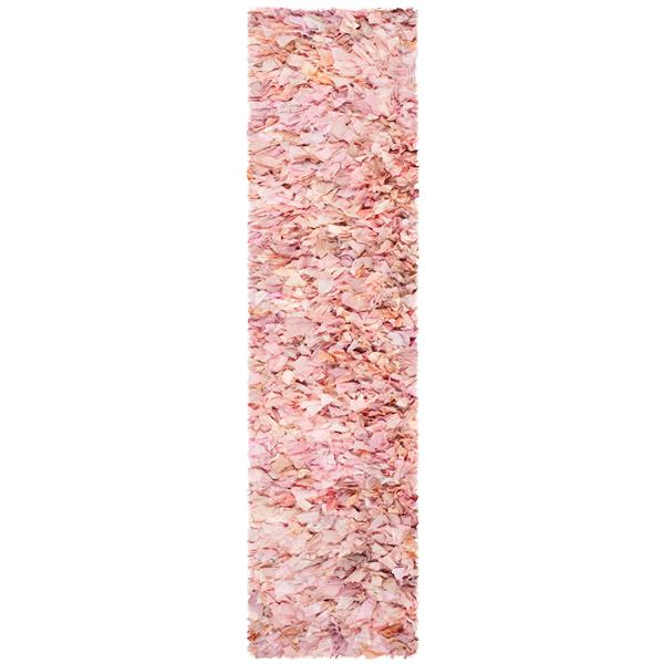 Safavieh Rio Abstract Rug - 2.3' x 6' - Polyester - Pink