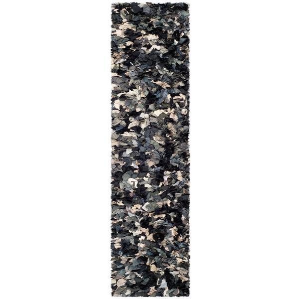 Safavieh Rio Abstract Rug - 2.3' x 6' - Polyester - Gray