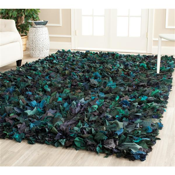 Safavieh Rio Abstract Rug - 3' x 5' - Polyester - Green