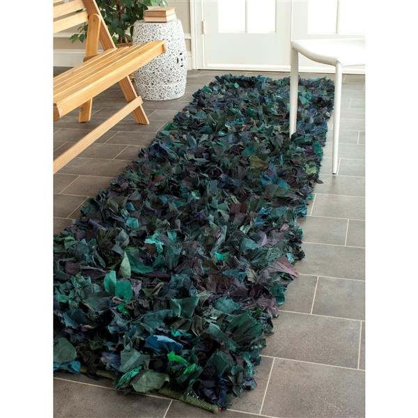 Safavieh Rio Abstract Rug - 2.3' x 6' - Polyester - Green
