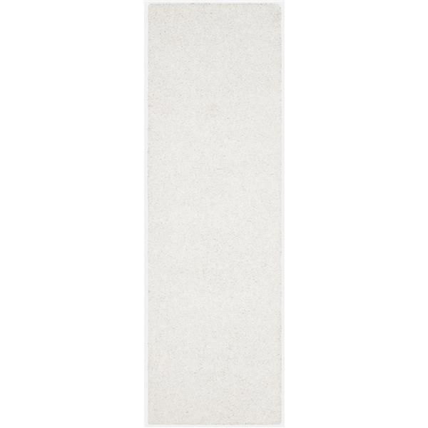 Safavieh Monterey Solid Rug - 2.3' x 6' - Polyester - White
