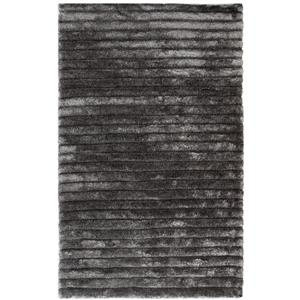 Safavieh 3D Abstract Rug - 5' x 8' - Polypropylene - Silver