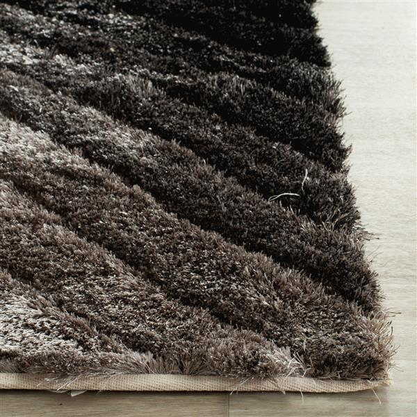 Safavieh 3D Abstract Rug - 2.5' x 4' - Polypropylene - Silver