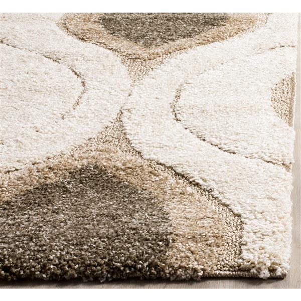 Safavieh Florida Abstract Rug - 3.3' x 5.3' - Synthetic - Cream