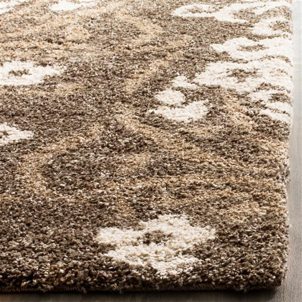 Safavieh Florida Damask Rug - 3.3' x 5.3' - Synthetic - Beige