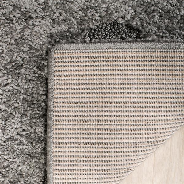 Safavieh Florida Floral Rug - 3.3' x 5.3' - Synthetic - Gray