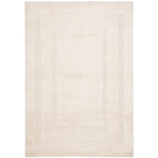 Safavieh Florida Border Rug - 4' x 6' - Synthetic - Cream