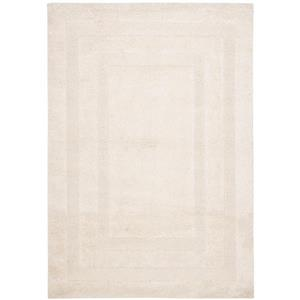 Safavieh Florida Border Rug - 3.3' x 5.3' - Synthetic - Cream