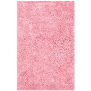 Safavieh Shag Solid Rug - 3' x 5' - Polyester - Pink