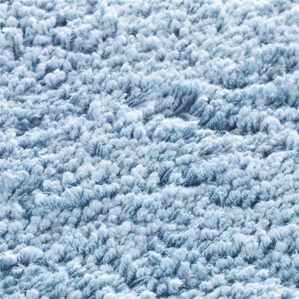 Safavieh Shag Solid Rug - 4' x 4' - Polyester - Light Blue