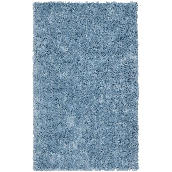 Safavieh Shag Solid Rug - 2' x 3' - Polyester - Light Blue