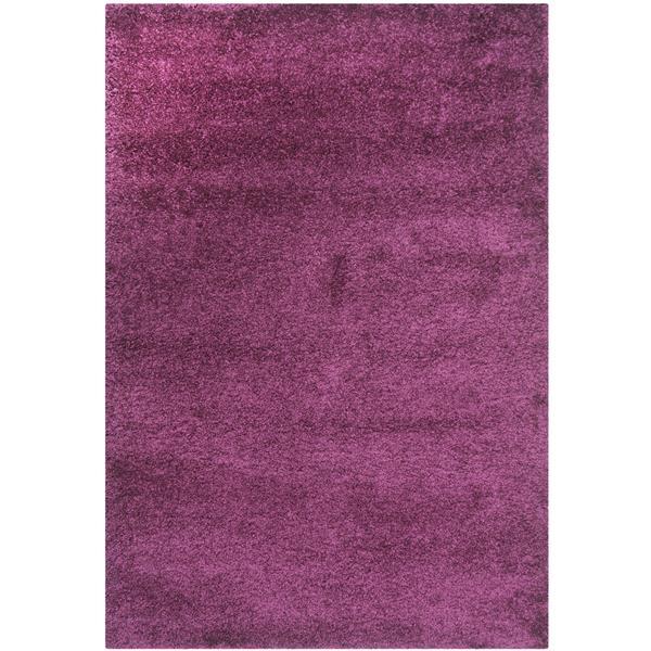 Safavieh California Solid Rug - 3' x 5' - Polypropylene - Purple