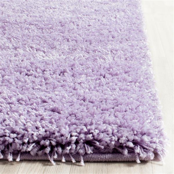 Safavieh California Solid Rug - 2.3' x 11' - Polypropylene - Purple