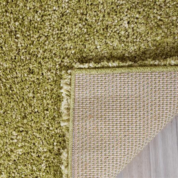 Safavieh California Solid Rug - 4' x 6' - Polypropylene - Green