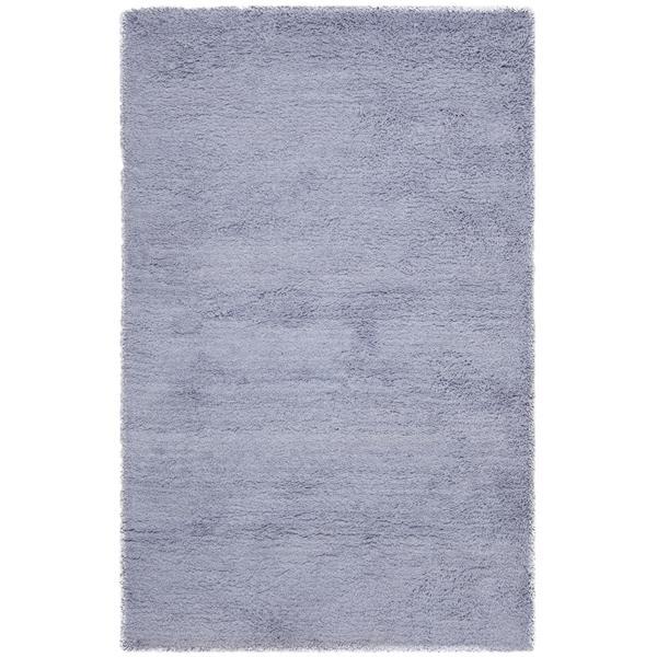 Safavieh Shag Solid Rug - 3' x 5' - Acrylic - Lilac