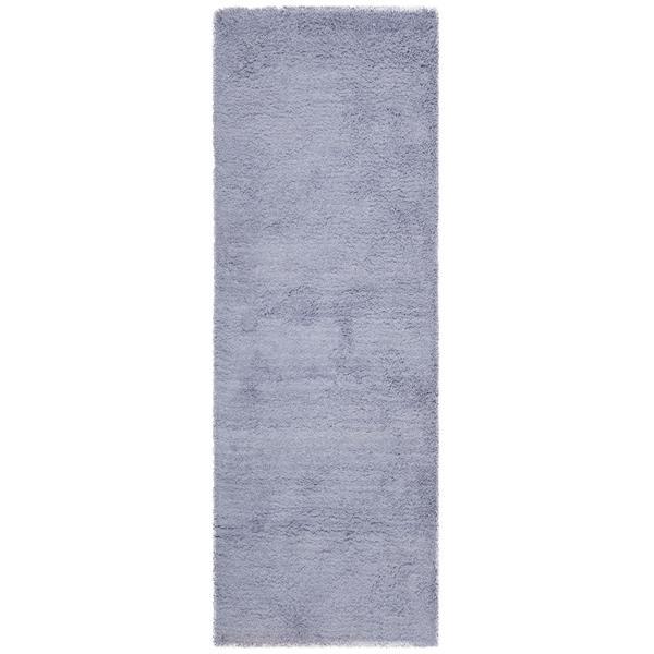 Safavieh Shag Solid Rug - 2.3' x 8' - Acrylic - Lilac
