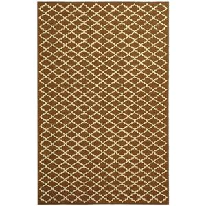 Safavieh Newport Trellis Rug - 8.5' x 11.5' - Cotton - Brown