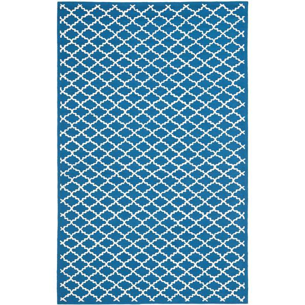 Safavieh Newport Trellis Rug - 8.5' x 11.5' - Cotton - Blue