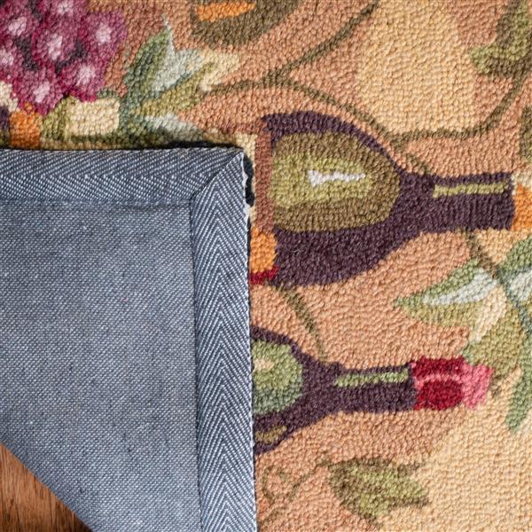 Safavieh Chelsea Rug - 8.8' x 11.8' - Wool - Gold