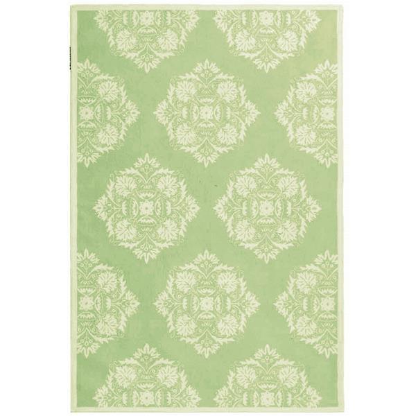 Safavieh Chelsea Floral Rug - 8.8' x 11.8' - Wool - Green