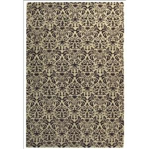Chelsea Damask Rug - 8.8' x 11.8' - Wool - Green