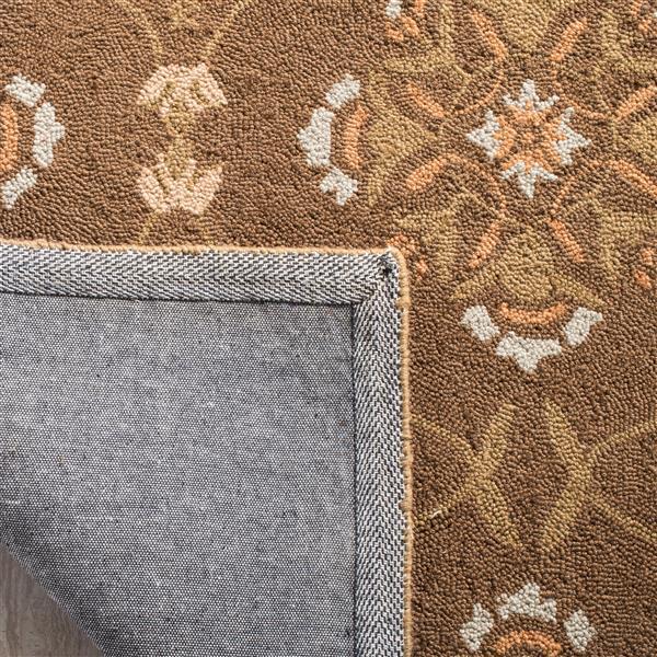 Safavieh Chelsea Trellis Rug - 8.8' x 11.8' - Wool - Brown