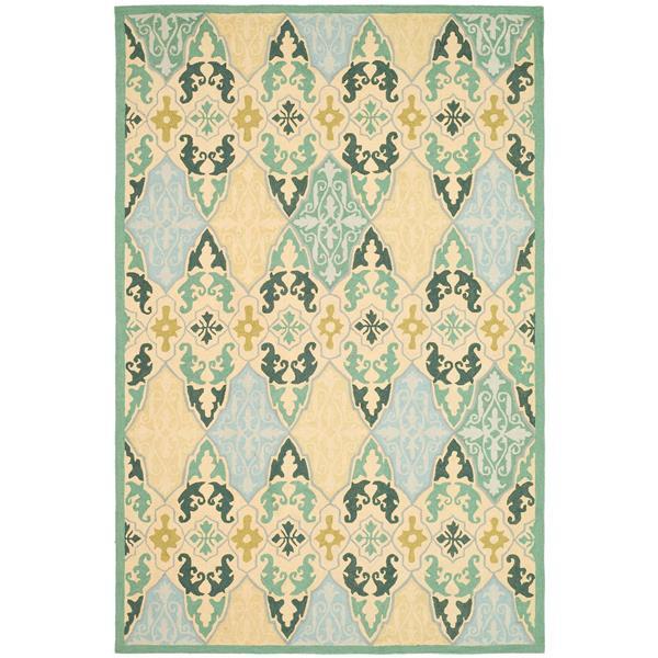 Safavieh Chelsea Damask Rug - 8.8' x 11.8' - Wool - Multicolour