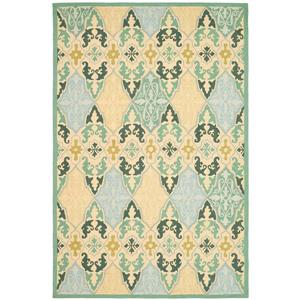 Chelsea Damask Rug - 8.8' x 11.8' - Wool - Multicolour